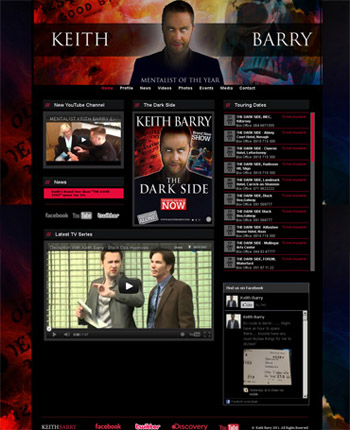 Keith Barry Website